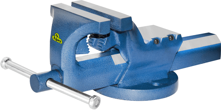PROFESSIONAL INDUSTRIAL BENCH VISE FIXED/SWIVEL
